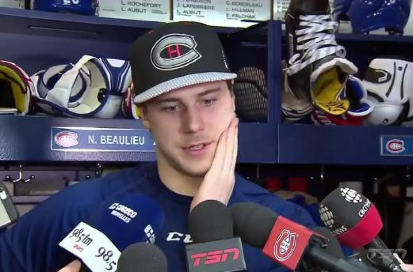 Beaulieu commente la réaction de Price!