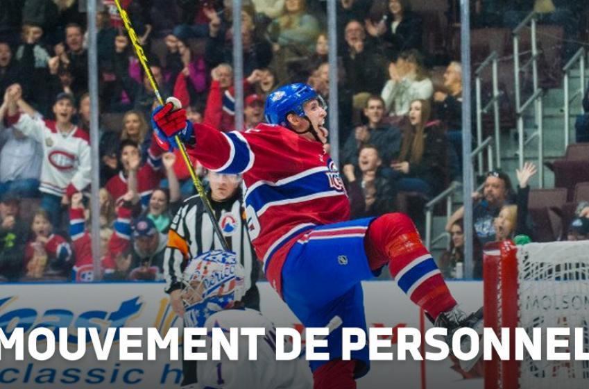 Un attaquant s'amène à Montréal!