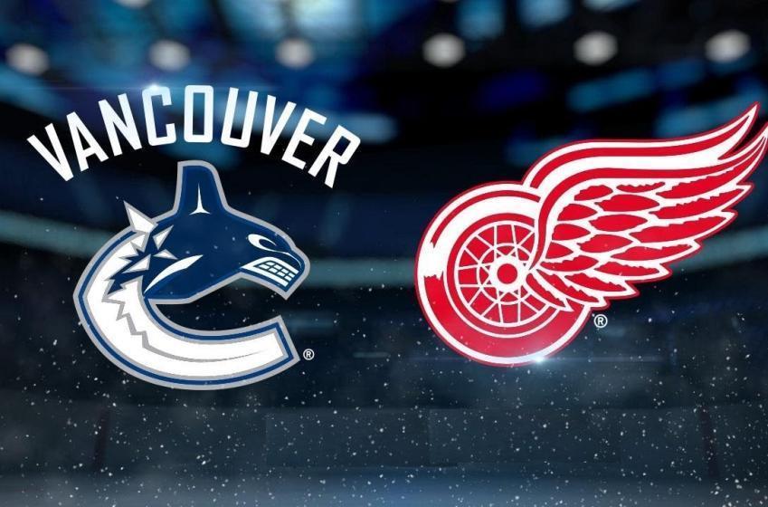 Les Canucks et les Red Wings complètent une transaction en pleine nuit