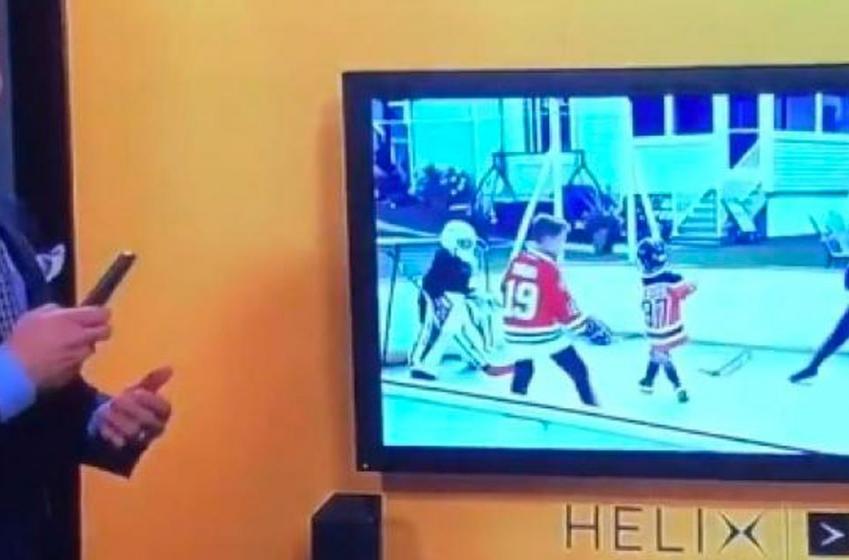 Moment de malaise en direct à TVA Sports alors que le système Helix ne fonctionne pas