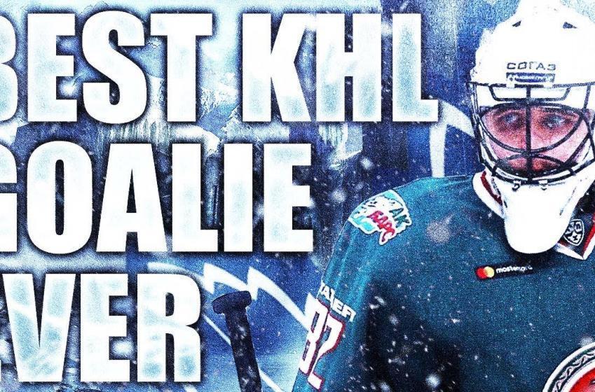 Le meilleur gardien de la KHL, Timur Bilyalov, pourrait faire le saut dans la LNH