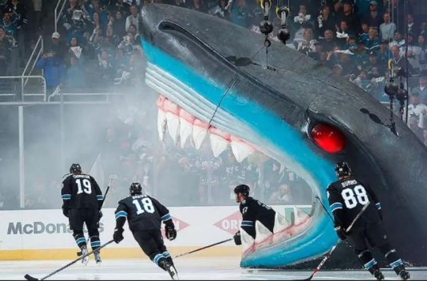 Les joueurs des Sharks décideront de la musique à leurs matchs locaux