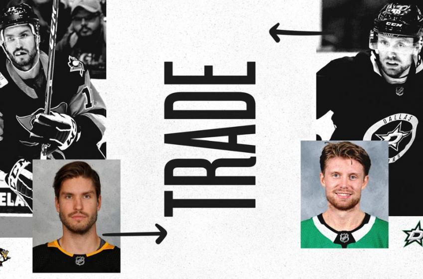 Transaction mineure entre les Penguins et les Stars