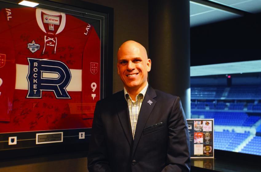 Le président du Rocket de Laval remet sa démission