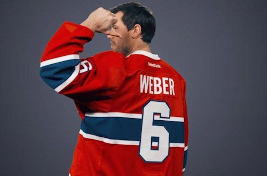 Shea Weber veut rester à Montréal