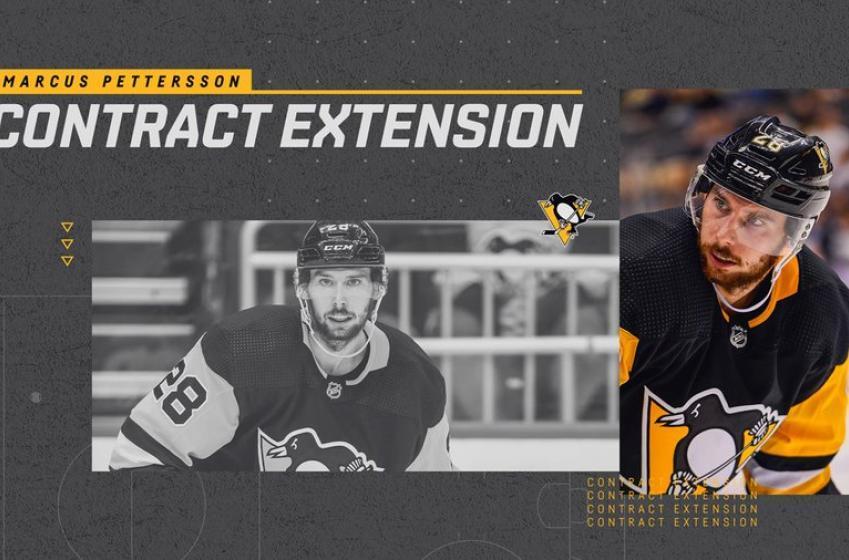 Les Penguins offrent un contrat de 20 millions à Marcus Pettersson