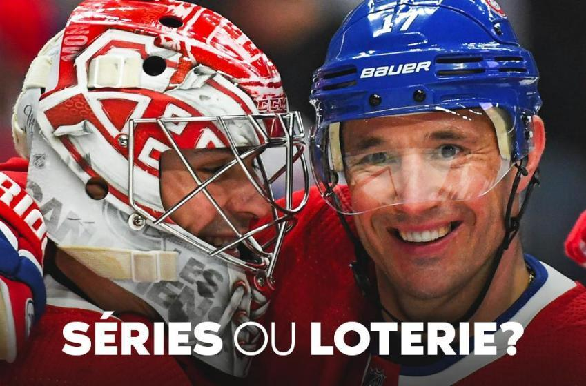 Séries ou loterie? Les chances du Canadien avec 25 matchs à jouer