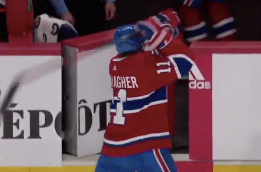 Brendan Gallagher saute les plombs contre l'arbitrage dans la LNH après la partie d'hier