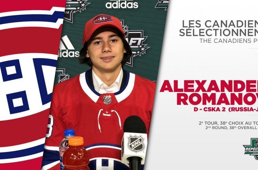 Alexander Romanov pourrait ne pas venir seul à Montréal l'an prochain!