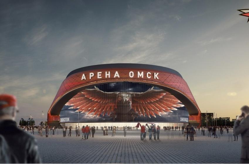 Le nouvel aréna de l'Avangard de OMSK sera complètement fou!