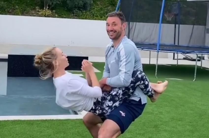 Ilya Kovalchuk utilise sa femme pour s'entraîner!