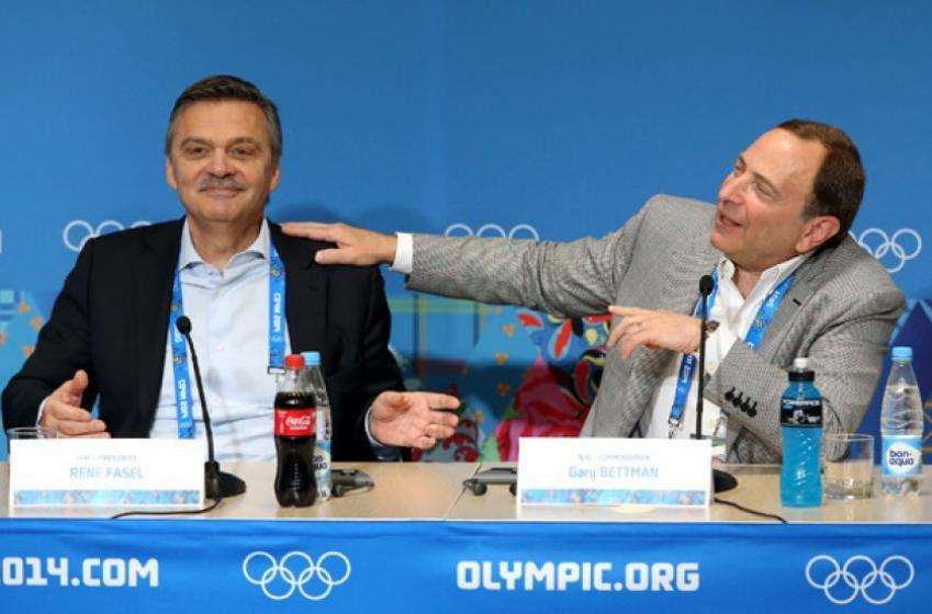 La LNH pourrait grandement profiter du report des Jeux Olympiques