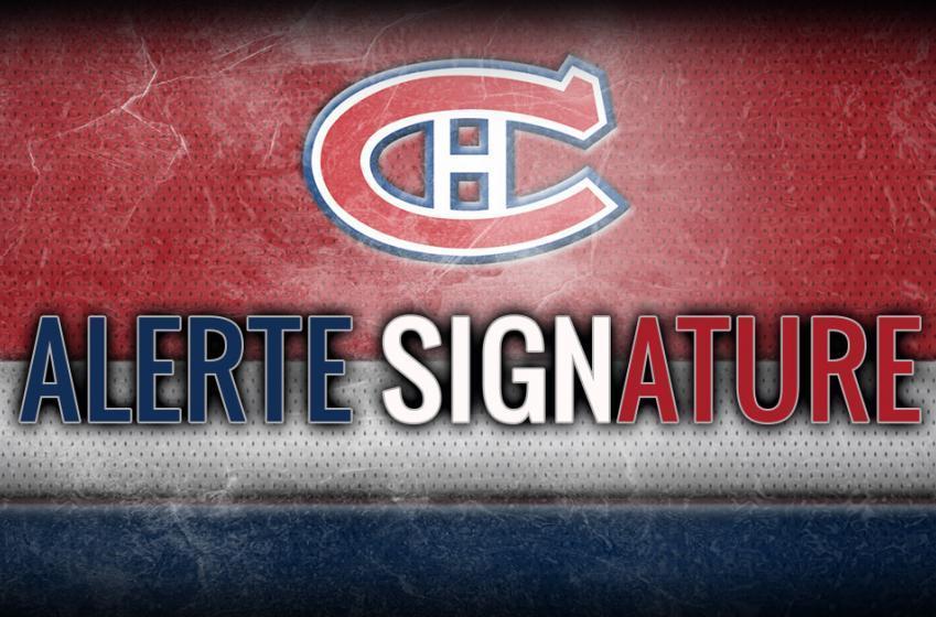 Le Canadien annonce la signature de Laurent Dauphin