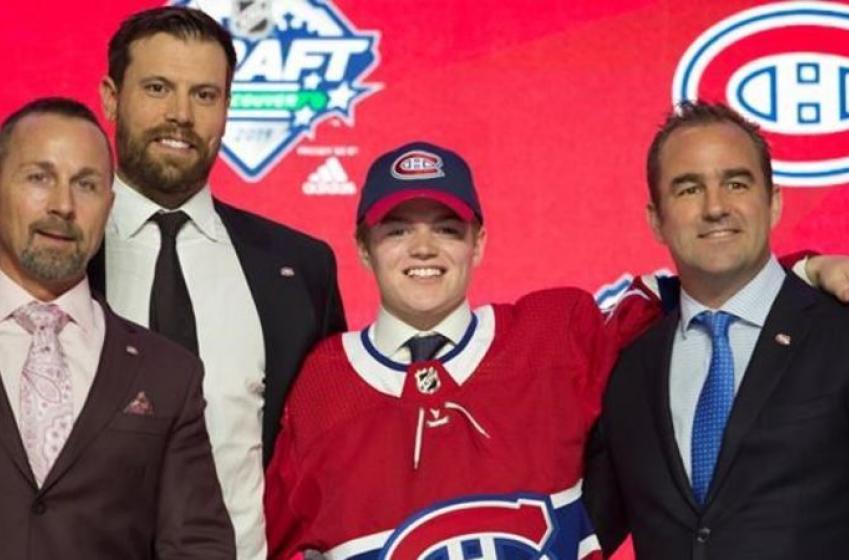 Le Canadien a offert à Cole Caufield de jouer à Laval l'an prochain