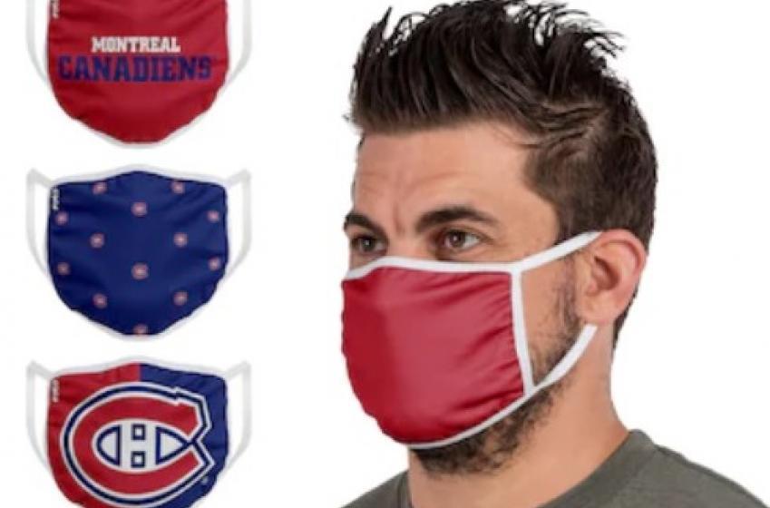 La LNH met en vente des masques aux couleurs de ses équipes