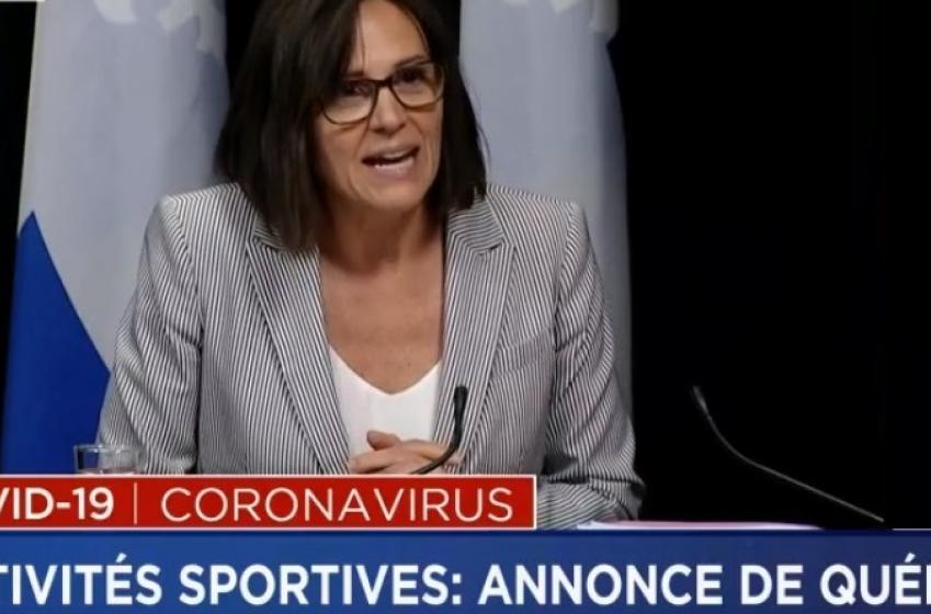 Voici la liste des sports maintenant permis par le gouvernement