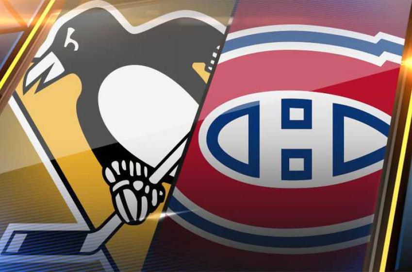 La série Canadiens/Penguins sera disputée à Toronto