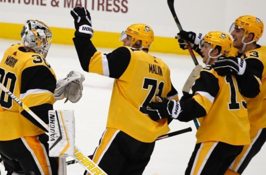 Les Penguins forcés de retirer neuf joueurs de leur camp d'entraînement