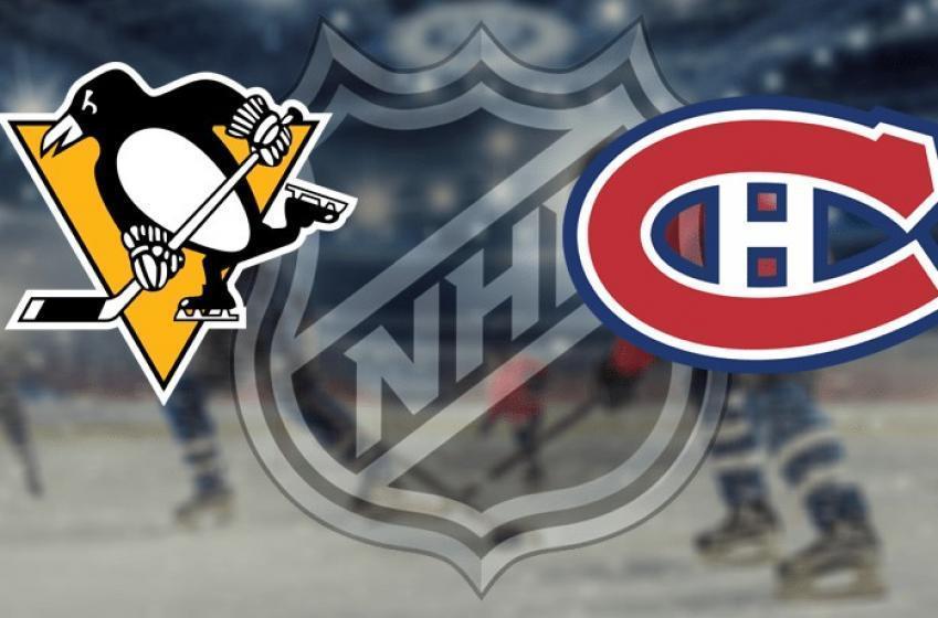 Le Canadien et les Penguins joueront un match en après-midi
