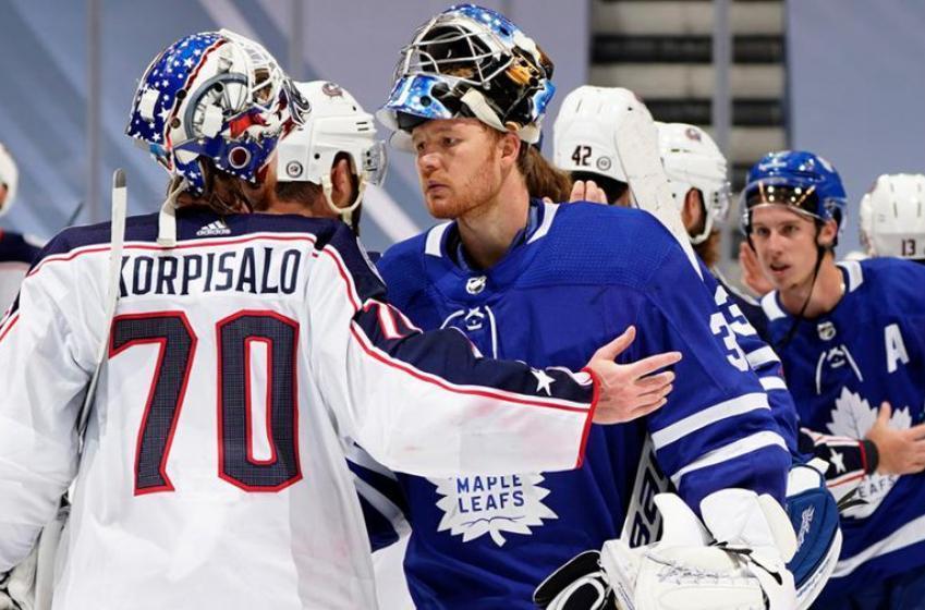 Les Blue Jackets ont humilié les Leafs sur les réseaux sociaux après le match