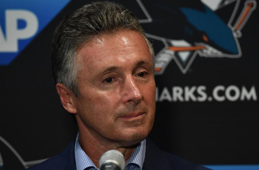 Doug Wilson dévoile l'entraîneur-chef des Sharks pour l'an prochain