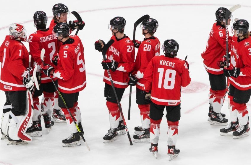 Victoire pour Équipe Canada Junior (VIDÉO)