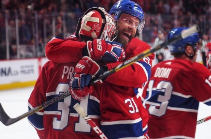 Carey Price et Shea Weber ont fait une liste de joueurs qu'ils voulaient à Montréal