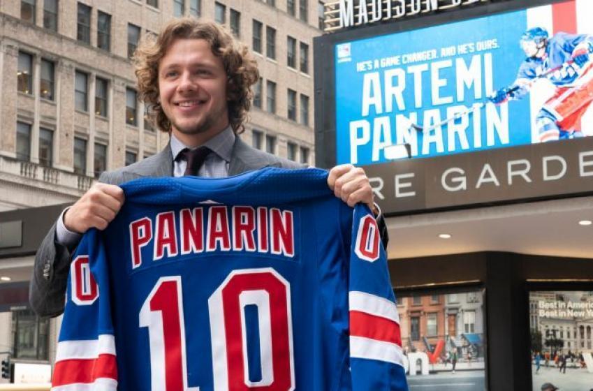 Artemi Panarin quitte les Rangers
