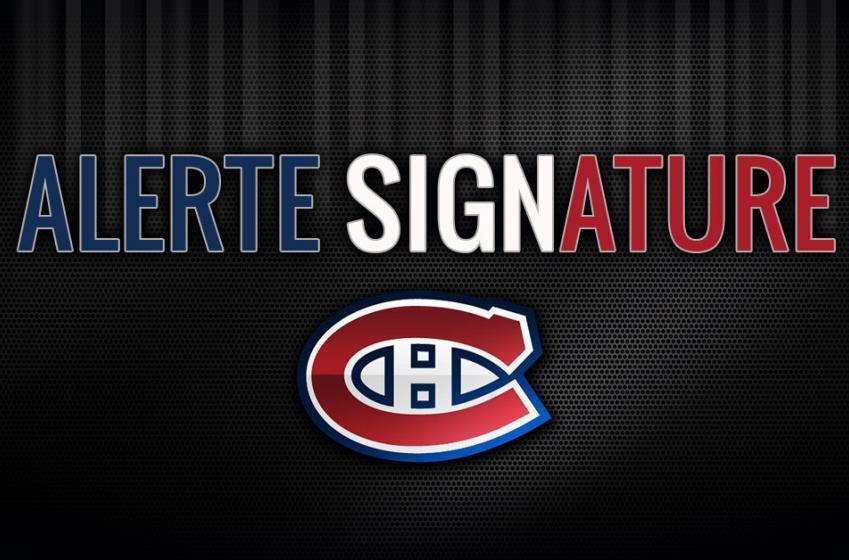 Le Canadien signe Corey Schueneman