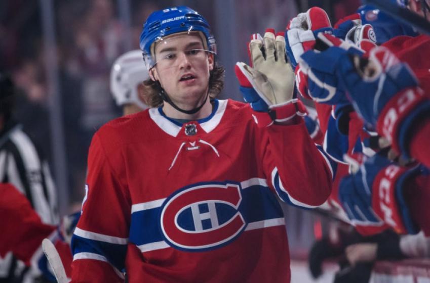Jonathan Drouin quitte le Canadien pour une durée indéterminée