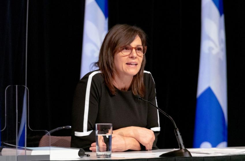 La ministre Charest présente le plan de déconfinement pour les sports au Québec