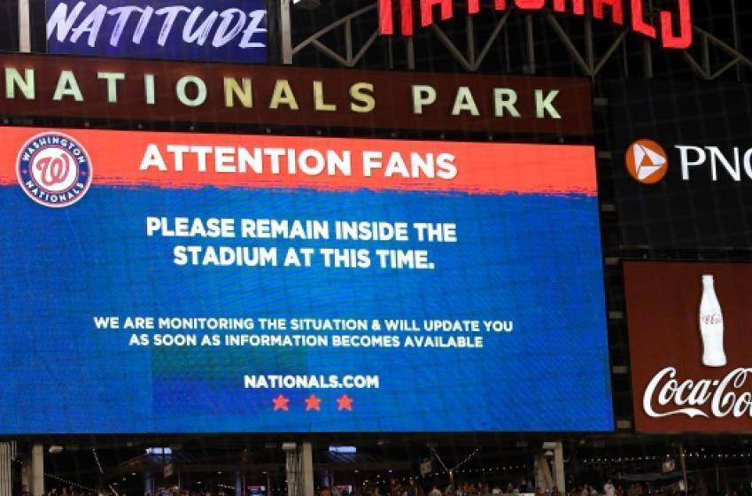 Le match Padres-Nationals interrompu par des coups de feu