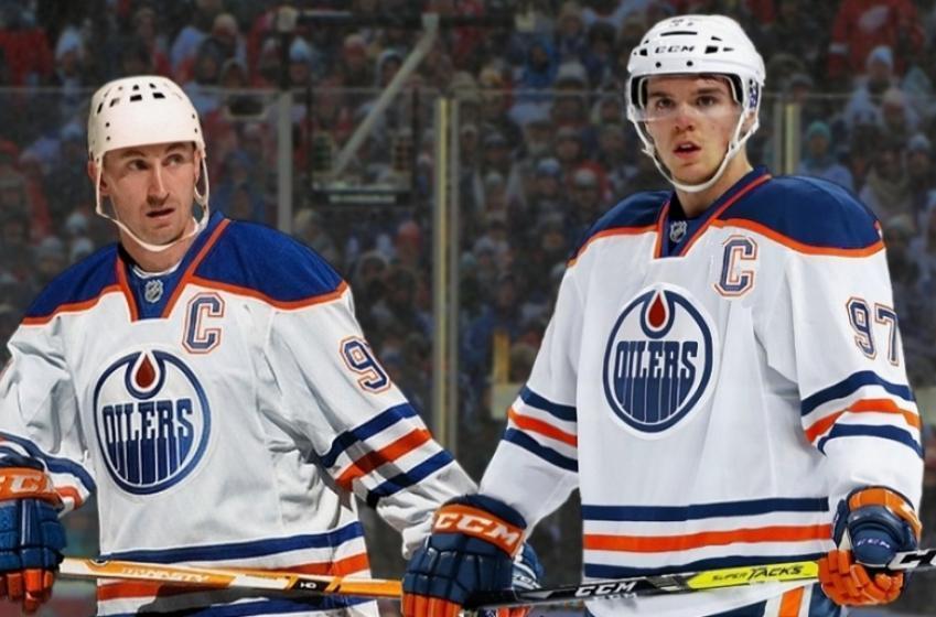 Connor McDavid produit au même rythme que la meilleure saison de Wayne Gretzky!