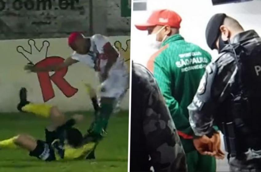 VIDÉO | Un joueur de soccer brésilien accusé de tentative de meurtre contre un arbitre
