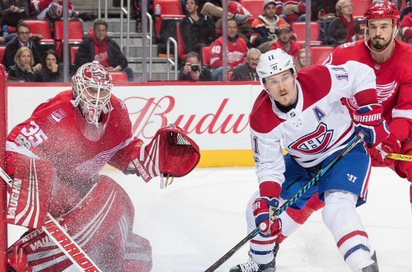 Voyez les trios du Canadien pour affronter les Red Wings ce soir