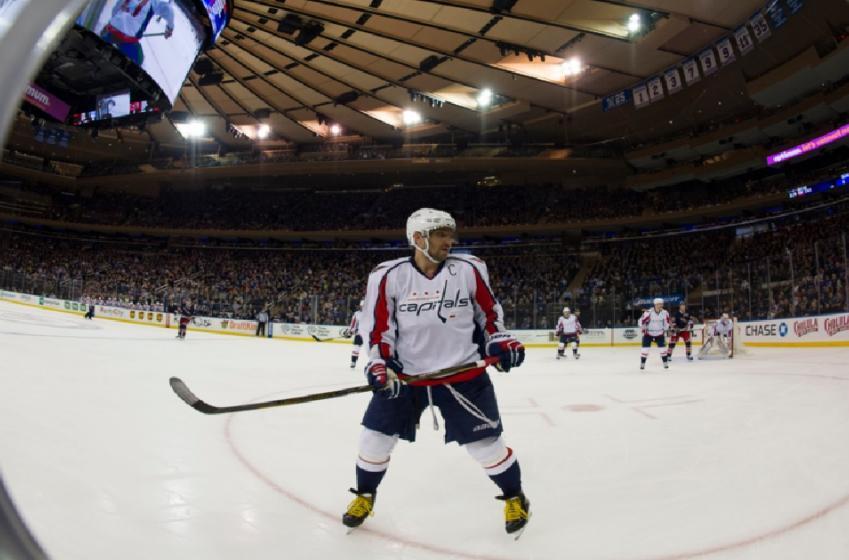 Voici à quoi ça ressemble d'affronter Alex Ovechkin sur une patinoire de la LNH!
